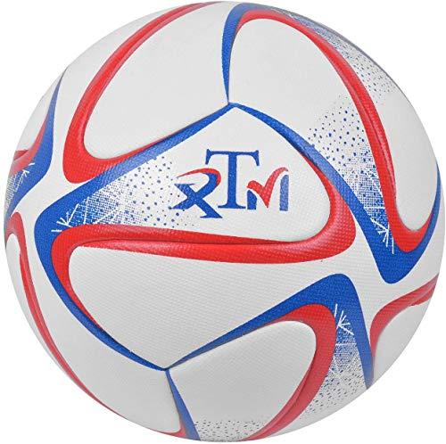 ExTWISTim Ballon de football à liaison thermique taille 5 match professionnel de football anti-dérapant jeu de football entraînement de football intérieur et extérieur