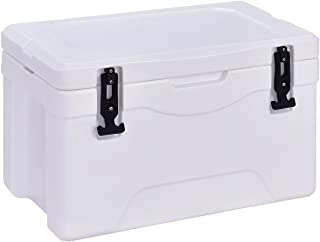 Giantex 32 Quart Heavy Duty Cooler Ice Chest Outdoor Insulated Cooler Fishing Hunting Sports