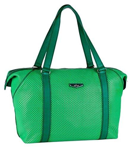 Kipling Art M KP reistas, 26 liter, groen (Hot Green Perfo)