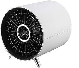 YOLANDE Sin Hoja Calefactor Eléctrico, 600W- 1000W Mini PTC Calefactor Cerámico, Carcasa De ABS Retardante De Llama, Sistema Antivuelco, Protección Sobrecalentamiento