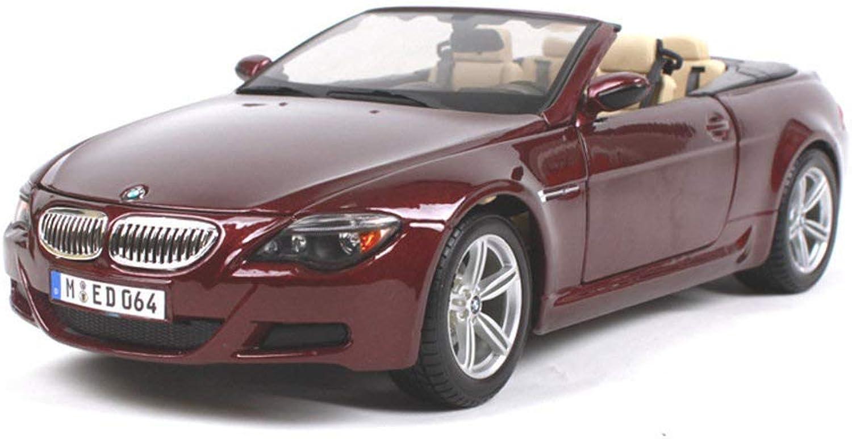 Luckycs 1 18BMW 18BMW 18BMW M6 simulation alloy car model simulation