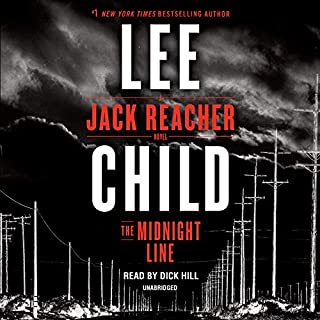 The Midnight Line     A Jack Reacher Novel              Auteur(s):                                                                                                                                 Lee Child                               Narrateur(s):                                                                                                                                 Dick Hill                      Durée: 13 h et 6 min     132 évaluations     Au global 4,3