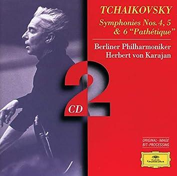 """Tchaikovsky: Symphonies Nos.4, 5 & 6 """"Pathétique"""""""