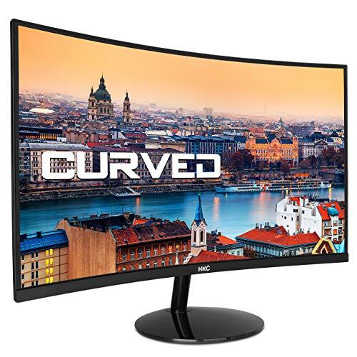 HKC 24A9 gewölbter LED Monitor, Full HD, HDMI, VGA, Schwarz, 24 Zoll, 1920 x 1080