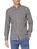Tommy Hilfiger Slim Small Tartan Check Shirt Camisa, Ecru/Multi, M para Hombre