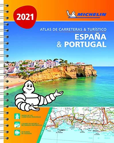 España & Portugal (formato A-4) (Atlas de carreteras y turístico ) (Atlas de carreteras Michelin)