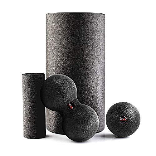 Best Goods Faszienrolle - [4-teiliges] Foam Roll Set für effektives Faszientraining - Starter-Set für den (Y0)
