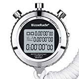 <span class='highlight'><span class='highlight'>BizoeRade</span></span> Sport Stopwatch Timer, Digital Stopwatch Shockproof Stopwatch, Large Display with Date Time and Alarm Function,Suitable for Sports Coaches Fitness Coaches and Referees and More