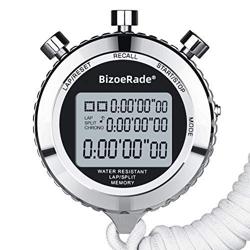 BizoeRade -   Metall Stoppuhr mit