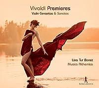 Vivaldi: Premieres - Violin Concertos and Sonatas by Lina Tur Bonet (2014-10-25)