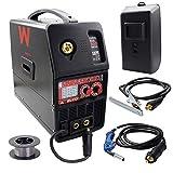 Awelco - Saldatrice inverter a gas di protezione micromatica 1800 EURO 2/4T, modalità MIG MAG WIG
