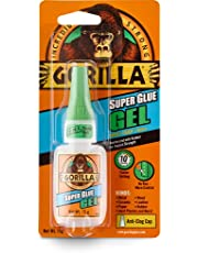Gorilla Super Lijm Gel, 15 Gram, Helder