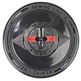DOLMAR 382224300 382224300-Cabezal de Nylon para desbrozadoras Tipo t&g m10 Hilo 2.7x127 mm, Negro