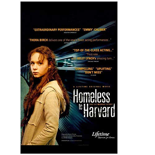 Homeless to Harvard: The Liz Murray Story (2003) Movie Fashion Trend Hermoso hogar Art Decor Poster Wall Deco Gift -20x28 inch Sin marco