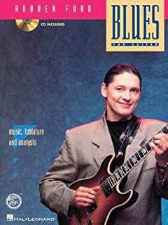 FORD ROBBEN BLUES FOR GUITAR BK/CD by Ford, Robben (1994) Paperback