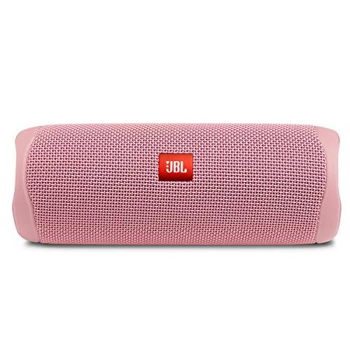 JBL FLIP 5, Waterproof Portable Bluetooth Speaker, Pink (New Model)