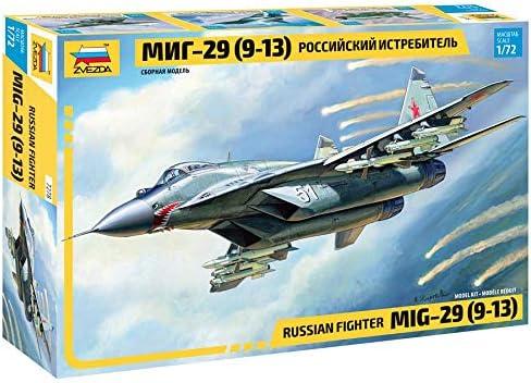 Zvezda Dedication 7278 - Russian Fighter Model Plastic MIG-29 Long-awaited Kit 9-13