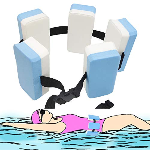 Swimming Belt, EVA Auxiliary Aquatic Exercise Kids Swimming Training Aid Waist Belt Buoyancy Safety Board