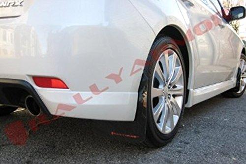 08-11 2.5 Rally Armor Red Mud Flap w// White Logo For 08-10 WRX Hatch /& Sedan