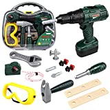 STEAM Life Kids Tool Set with Power Toy Drill | Toy Tool Set Contains Tool Box...