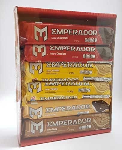 Galletas Emperador, Surtido 4 sabores, 120 pzs