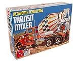 AMT Kenworth/Challenge Transit Cement Mixer 1:25 Scale Model Kit