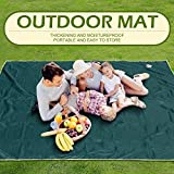 Pureworthy Beach Blanket Overszie Sand Free-Waterproof Lightweight for 10x10ft 7-10 Adults, Sand Proof Mat for Travel, Camping, Hiking