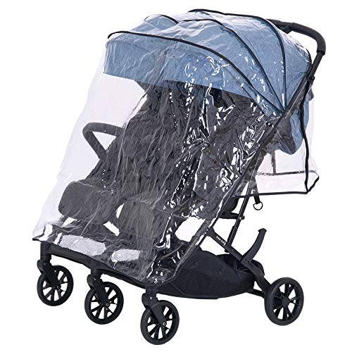 Knorr-baby 888599 Film de protection contre la pluie pour Twin-Easy-Fold Transparent