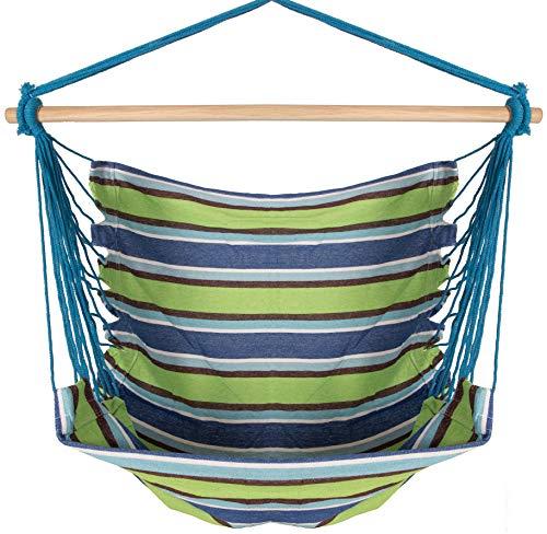 Inspired Home Living Chaise hamac brésilien Grand - Suspendus Rope - Polyvalent