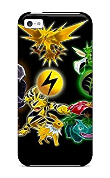 Awesome VcTpAqo1659yiocL SusanBurns Defender Tpu Hard Case Cover For Iphone 5c- Pokemon