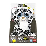 Goliath Toys Feisty Pets-Peluche Leopardo de las Nieves, color blanco/gris (32375) , color/modelo surtido