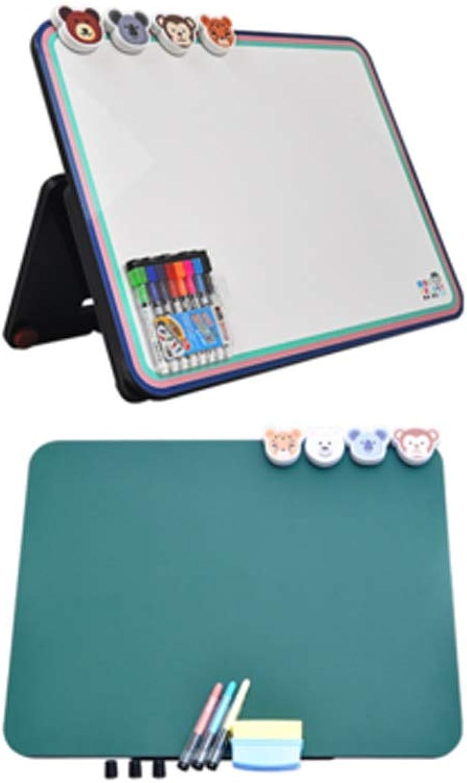 Tongboshi Detachable Magnetic Multi-function Portable Drawing Board, Writing Board, Note Board, Magnetic Photo Frame, Multi-function ( Size   E )