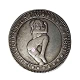 GooKit Morgan US Coins Dollars Old Coin Collecting Hobo Nickel Coin Handmade Original Crafts Hobby Collection