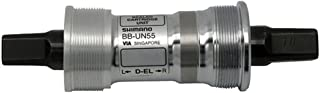 Shimano CARTRIDGE BOTTOM BRACKET SET BB-UN55 NON-SPLINED TYPE AXLE BSA 68-107MM W/O FIXING BOLT
