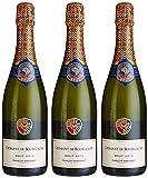 FRANÇOIS MARTENOT AOP Crémant de Bourgogne Brut 0.75 L - Lot de 3
