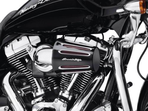 Copper Luftfilter schwarz Inschnitt Tropfen Screamin Eagle Moto Harley Davidson