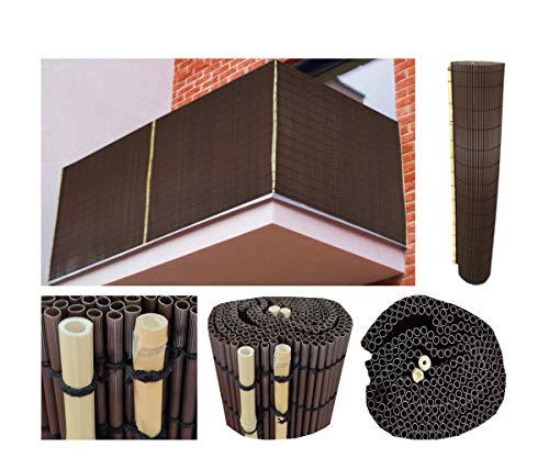 Comercial Candela CAÑIZO PVC Marron Ovalado 1X3 Metros