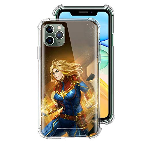 ZENGMING CTN Mar Superhero Case For Apple iPhone Clear Soft Airbag Anti Phone Cover A12 For Funda iPhone 7 Plus (iPhone 8 Plus)