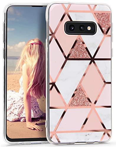 Imikoko Hülle für Samsung Galaxy S10e Marmor Hülle Matt Scrub Weich Silikon Handyhülle Stein Marble Schlank TPU Bumper Handytasche Flexible Schutzhülle Soft Back Cover Protective Dünn (Marmor 22)