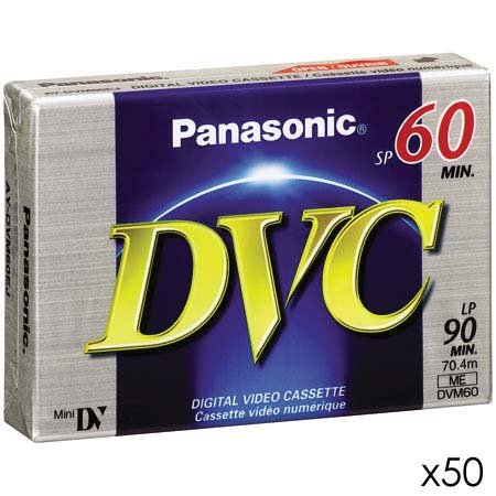 Great Features Of Panasonic DVM60EJ50P 60 Minutes Mini DV - 50 Pack
