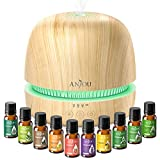 Best Aroma Aromatherapy Diffusers - Essential Oil Diffuser Gift Set - Anjou 2rd Review