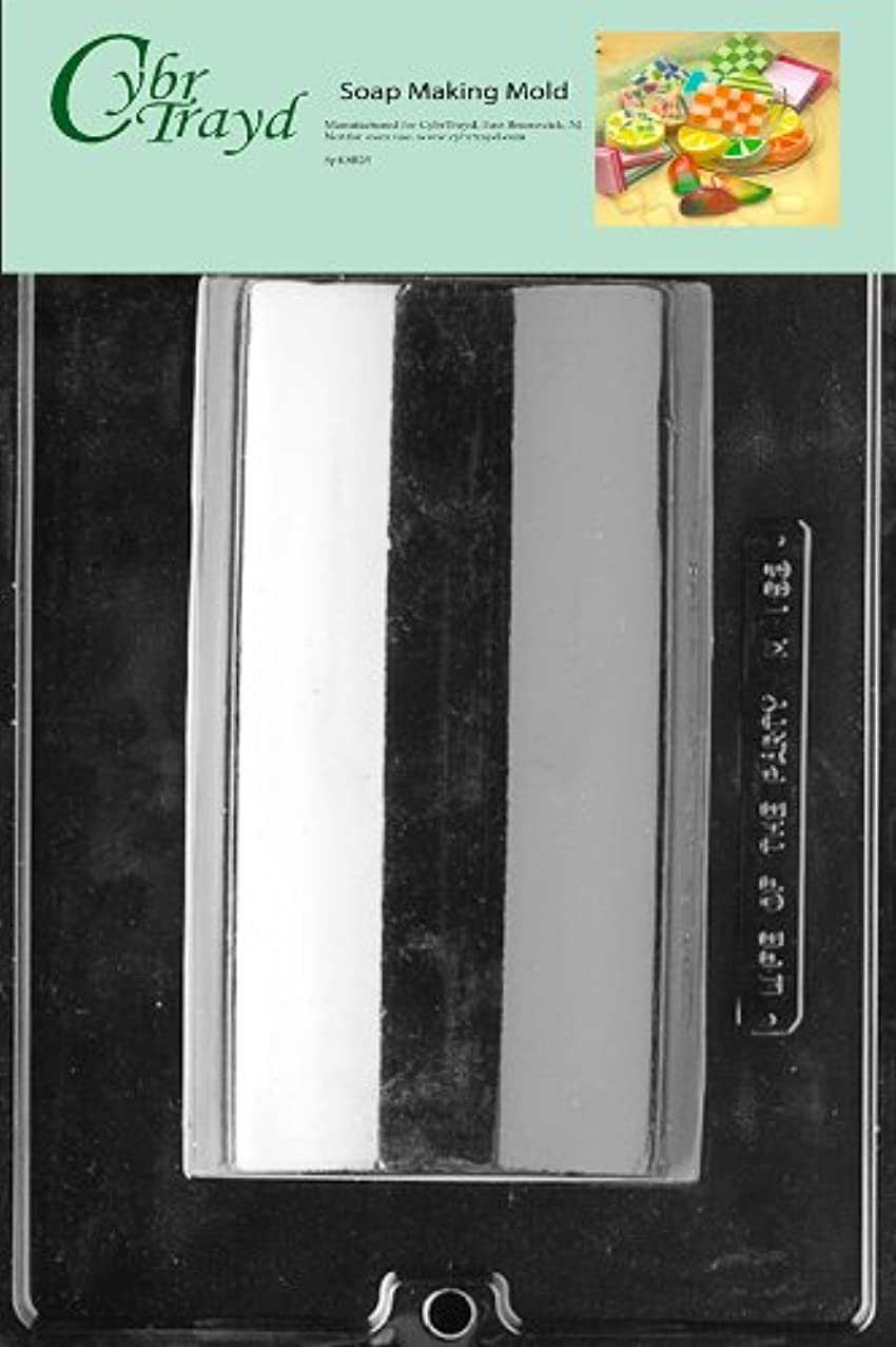 Cybrtrayd Loaf Soap Mold, Large with Exclusive Cybrtrayd Copyrighted Soap Molding Instructions
