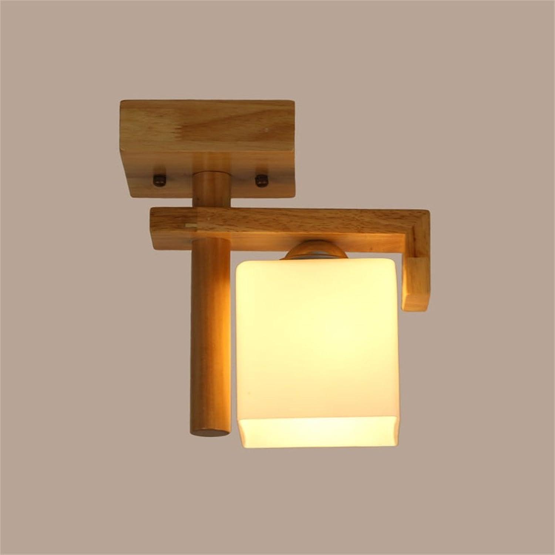 XiuXiu Moderne minimalistische Startseite Decke nordischen kreative Korridor Eingang Balkon Licht Treppe Studie massivem Holz Lampen B07HMNZC58 | Won hoch geschätzt und weithin vertraut im in- und Ausland vertraut