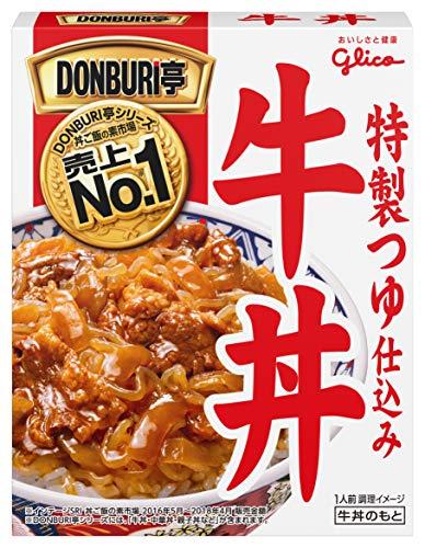 江崎グリコ DONBURI亭牛丼 160g×10個