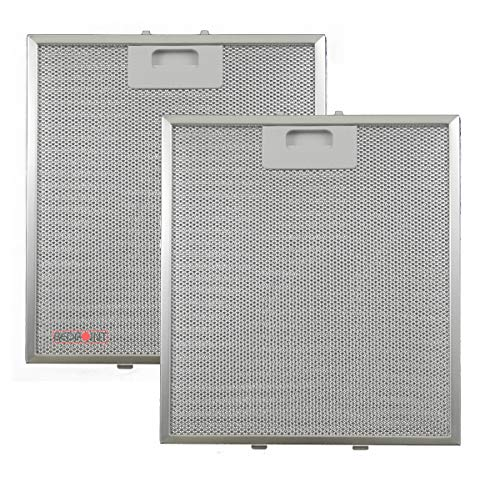 Kit 2 Stück Aluminium-Fettfilter Austauschfilter Dunstabzugshaube Für ELICA mm 267 x 305 x 9