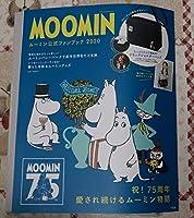 MOOMIN ムーミン公式ファンブック 2020 ブラックショルダーバッグリトルミイ&ニョロニョロの刺繍いりつき