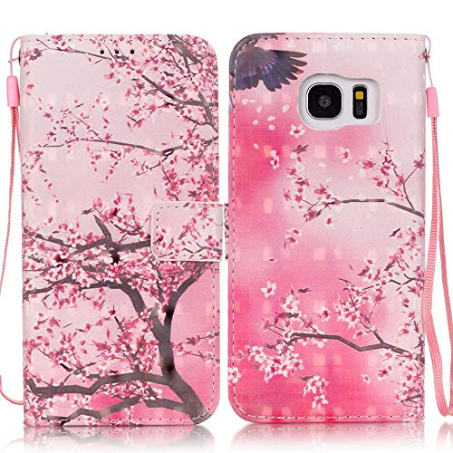 C-Super Mall-UK Samsung Galaxy S7 Edge Case,3D Pattern Design Leather...