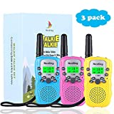 Nestling Talkie Walkie Enfants Longue Portée 3KM 8 Canaux Radio Bi-directionnel VOX...