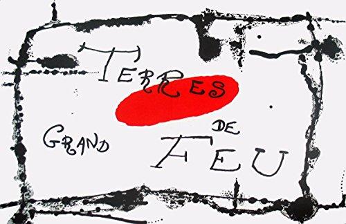 1956 Joan Miro bailarina de le Miroir, no, 87-88-89, pg 6, Litografía 7