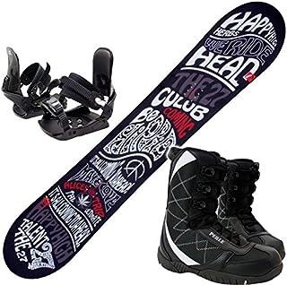 ヘッド(HEAD) スノーボード 3点セット 15-16 TALENT FLOCKA M 金具付き ブーツ付き